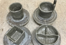 自分だけのキャンプ用の器を作ってみよう。信楽陶芸村で陶芸体験