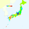 Murder Rate (Number of Actual Victims) by Prefecture in Japan, 2014