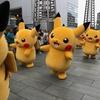 「横浜ポケモンGOパーク」「ピカチュウ大量発生チュウ」の横浜に行ってきましたぁ、楽しかったです
