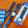 腕時計は軽くて薄いのがよい、チプカシを新調