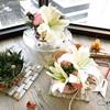 【生花レッスン・ハンドクラフト】New・フラワーベースとミニブーケを作るレッスンのご案内