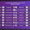 女子チーム: 2019/20 女子チャンピオンズリーグ・ラウンド32の対戦相手はバルセロナに決定