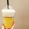 DEAN & DELUCA CAFES @川崎 夏にぴったりマンゴーラッシーフラッペ