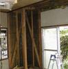 間仕切り改造1−1(和室の間仕切り壁抜きで洋室に模様替え)