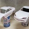 GRスープラとR33 GT-Rのホワイトボディを塗装する