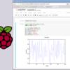Raspberry Pi 3 で jupyter notebook (Python 2.7) を使う