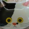 ネコ皿・2
