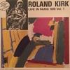 LIVE IN PARIS 1970 Vol.1/ROLAND KIRK