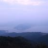 琴石山で朝駆け