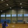 土床体育館のLED照明工事