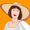 【似顔絵】iPad Proで『マンマ・ミーア!』のキャラクターを描いてみる。〜 ターニャ