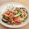 豚肉と夏野菜の韓国風炒め♡  旨辛味でご飯が進んで止まらないから注意、、、!