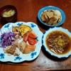 幸運な病のレシピ( 2230 )朝:鶏モモ、冬瓜味噌汁