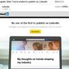 my first Linkedin publish