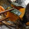きんぴらごぼう、かぼちゃの煮物、しめ鯖