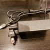 会社のパソコンの電源アダプタを400円で小さくした。