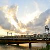東武アーバンパークラインで夕景撮影 再び
