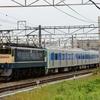第1617列車 「 甲45 都営地下鉄三田線用6500形(6504f)の甲種輸送を狙う 」
