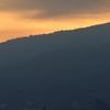 朝陽と錦江湾と潜水艦。