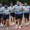 マラソンと体重と筋肉と。