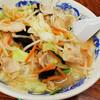 「まねきの湯」でタンメンを食べた夜@篠崎