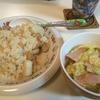 ヤバイ妻!!andシーフードピラフandキャベツと卵のサラダandグラノーラ♡