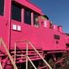 幸せのピンクの機関車⁈