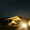南信州売木村でキャンプ