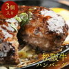 〔松阪牛〕ハンバーグ【3個セット】(1個 約170g)父の日 グルメ お取り寄せ ギフト 贈り物 ご褒美 お中元 肉 他をご紹介します。