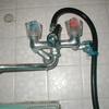 浴室シャワー混合栓の取り換え(逆配管事例)