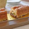 黒糖のブロンド・チョコレートと金柑のガトーショコラ/pâtisserie un cadeau