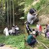 7月親子で竹取り週末イベント