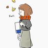 本日のイラスト fall
