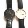 客室乗務員にも大人気【ダニエルウェリントン】ベルトが変えられるシンプルでおしゃれな腕時計