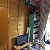 部屋にアンテナ端子が無くても、自作のアンテナでテレビは映る!!