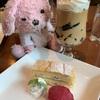 クリムト展コラボデザート!!東京都美術館 cafe artさんにお連れいただけました〜(≧∇≦)