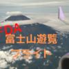 FDA富士山遊覧フライト② 〜富士山遊覧 FDA3776便搭乗記〜