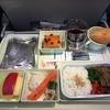 機内食です