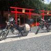 バイク神社とリバーサイドへ 病み上がりのショートツーリング