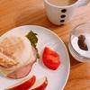 超楽☆超熟イングリッシュマフィン、いつもの材料で好評朝ご飯