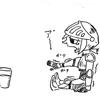 チミチミ絵日記 2018/1/30(火)