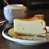 国立の「珈琲書簡集」でエチオピア、チーズケーキ。