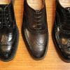 フルブローグと英国靴。脱線編  Church'sの3モデルと色。