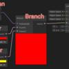 【Unity】ShaderGraphでフラグによって入力を切り替える(Branchノード)