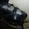 黒エンジン特有のエンジンカバー腐食