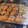 幸運な病のレシピ( 1692 )昼 :鳥カツ、クリームコロッケ、レンコン天ぷら