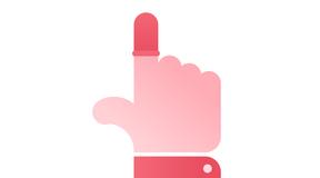 トラックパッドやマジックマウスの操作ではスマホ用指サックを着けるのがオススメ!!