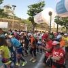 水都大阪ウルトラマラニック第10回記念大会、狂い咲きヨドガワロード!!真夏の太陽がランナーを苦しめ、エイドスタッフは知恵を絞りランナーを冷やし!!太陽と人間の攻防がそこにありました!!