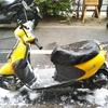 #バイク屋の日常 #スズキ #レッツ4 #納車準備 #洗車 #雨