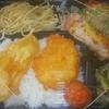 [21/06/09]「琉花」の「とり肉のさっぱり焼き(にら,ポン酢,ごま)(日替わり弁当)」 300円 #LocalGuides